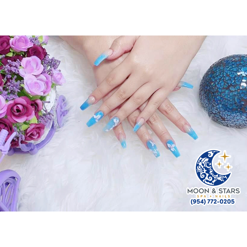 Moon and Stars Spa   Nail salon 33308   Pedicure near me Fort Lauderdale
